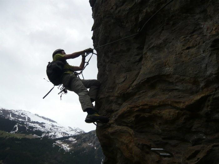 Klettersteig Nasenwand : Csaba.at klettersteigguide tirol 17 naturpark klettersteig nasenwand