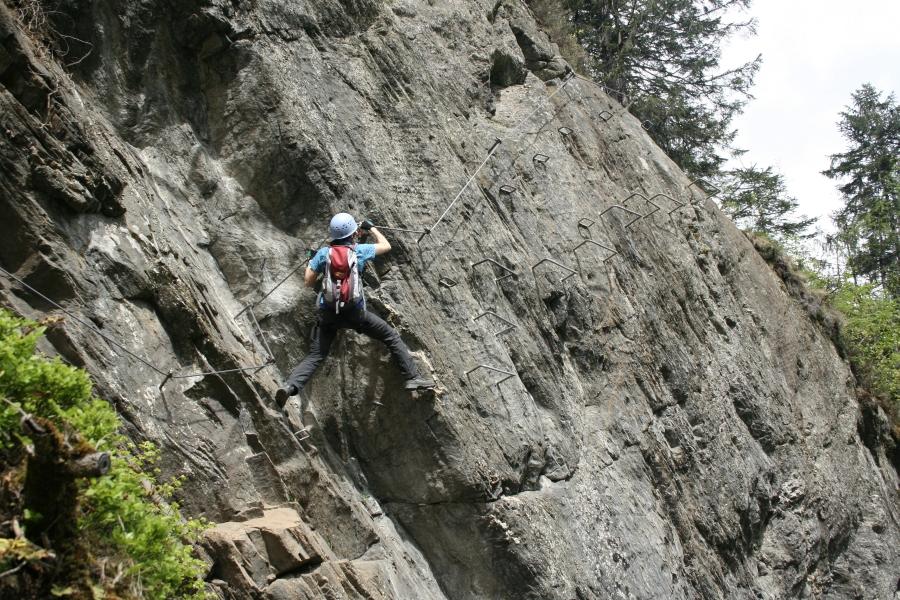 Klettersteig Uk : Csaba at klettersteigguide tirol klettersteig huterlaner