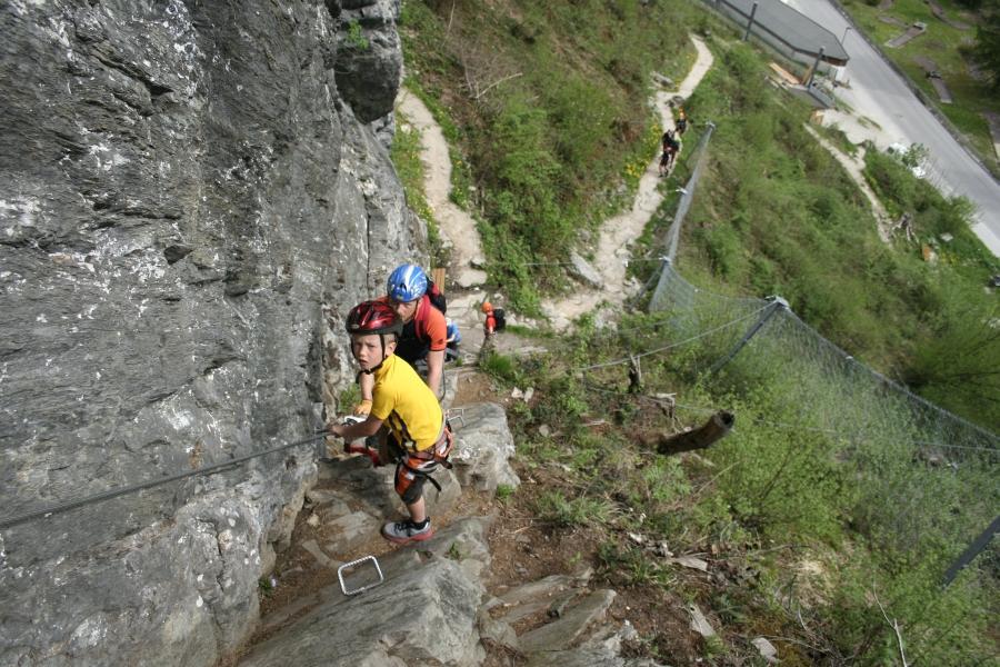 Klettersteig Zimmereben : Csaba.at klettersteigguide tirol 16 klettersteig huterlaner