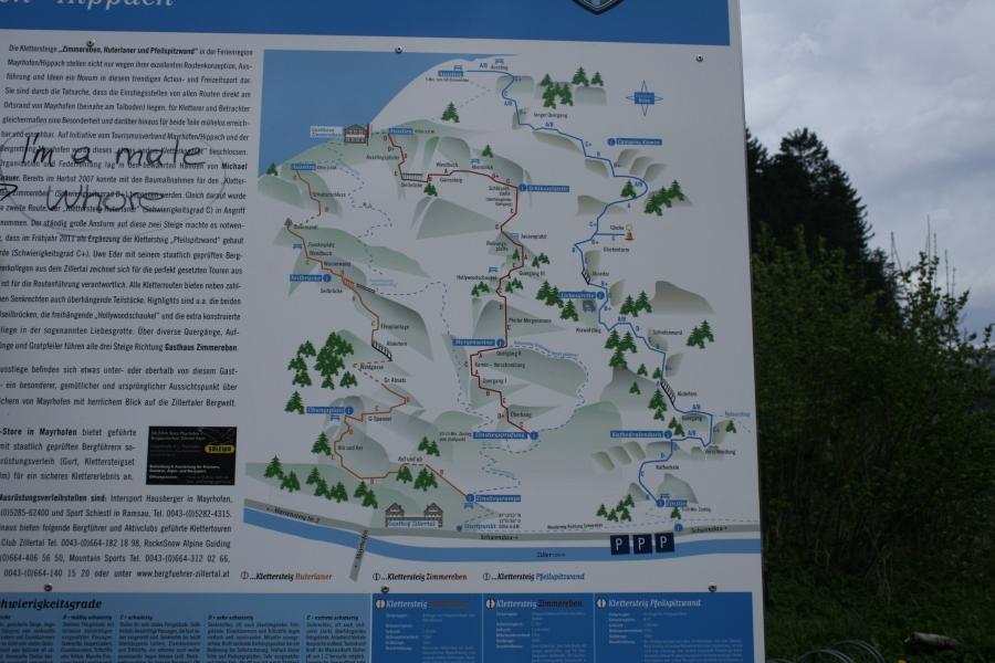 Klettersteig Mayrhofen : Csaba.at klettersteigguide tirol 16 klettersteig huterlaner