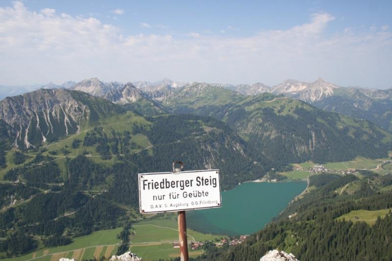 Friedberger Klettersteig : Csaba.at klettersteigguide tirol 73 friedberger klettersteig