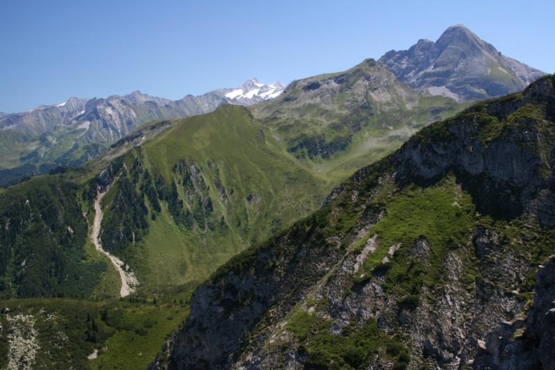 Klettersteig Gerlossteinwand : Klettersteig touren mit bergführer