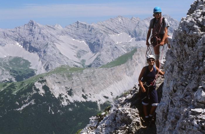Klettersteig Innsbruck : Csaba at klettersteigguide tirol innsbrucker klettersteig