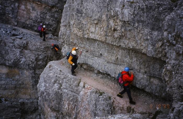Klettersteig Ilmspitze : Csaba.at klettersteigguide tirol 45 ilmspitze klettersteig