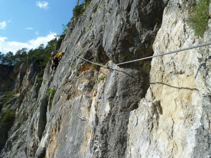 Klettersteig Rax : Csaba at klettersteigguide tirol adrenalin klettersteig